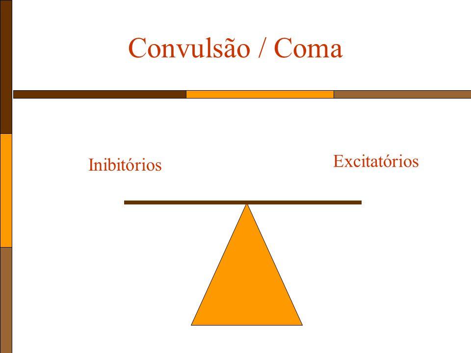 Convulsão / Coma Excitatórios Inibitórios