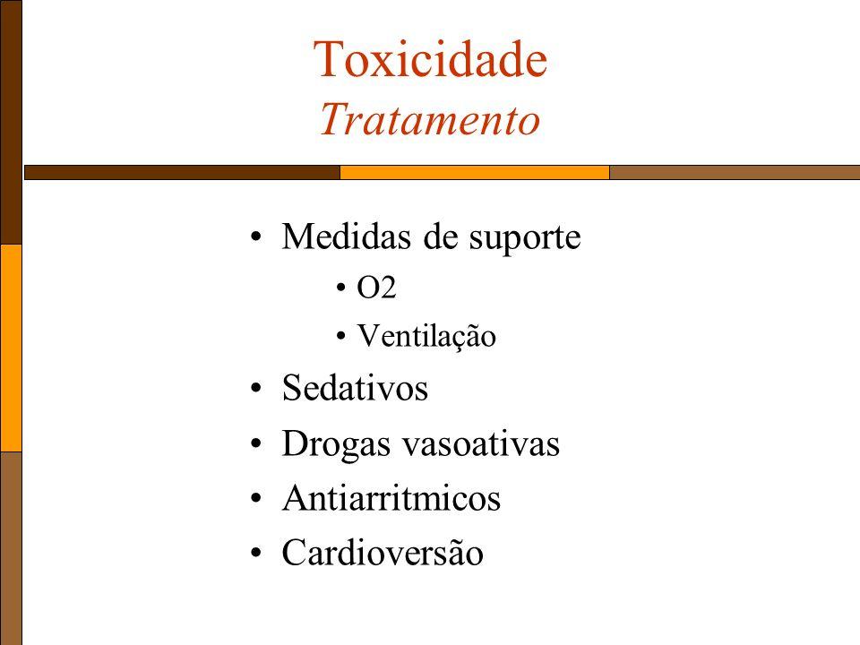 Toxicidade Tratamento