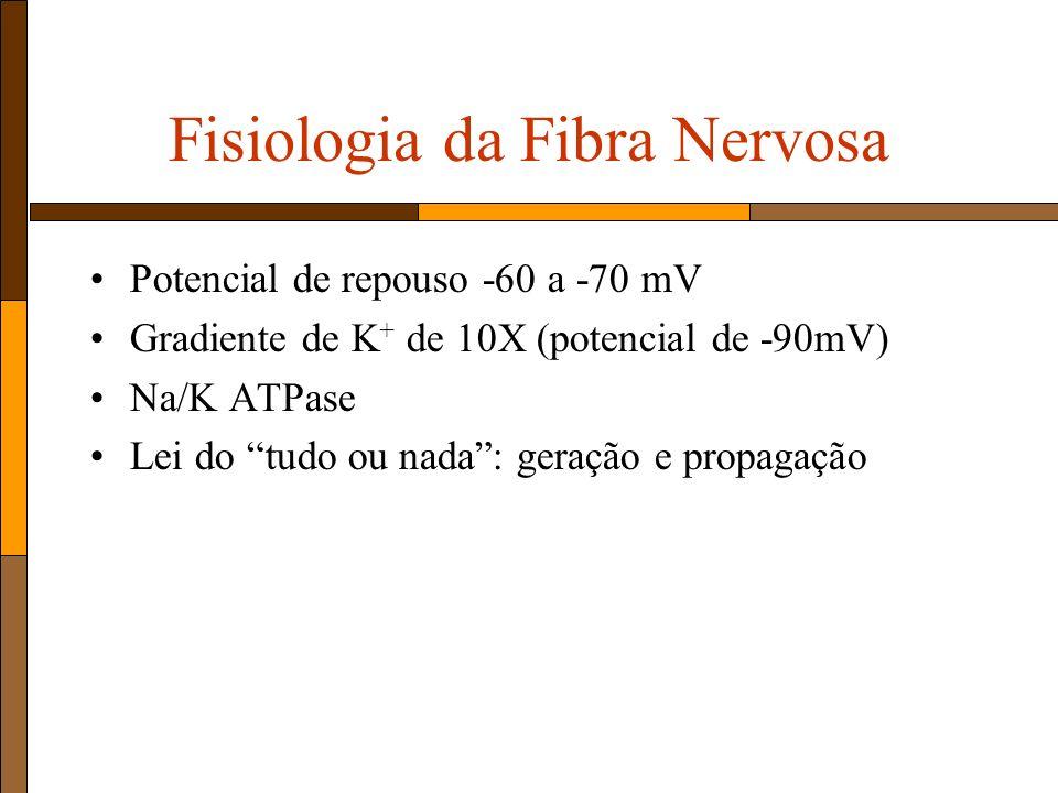 Fisiologia da Fibra Nervosa