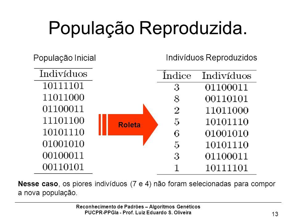 População Reproduzida.