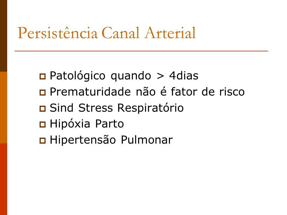 Persistência Canal Arterial