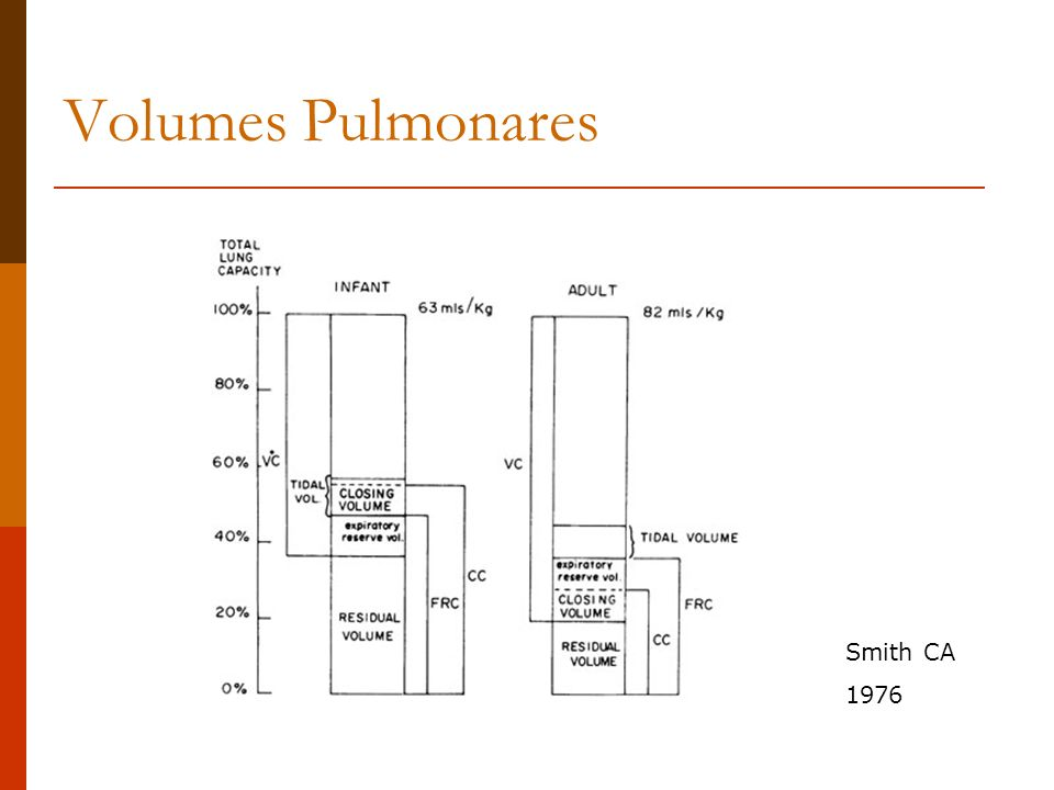 Volumes Pulmonares Smith CA 1976