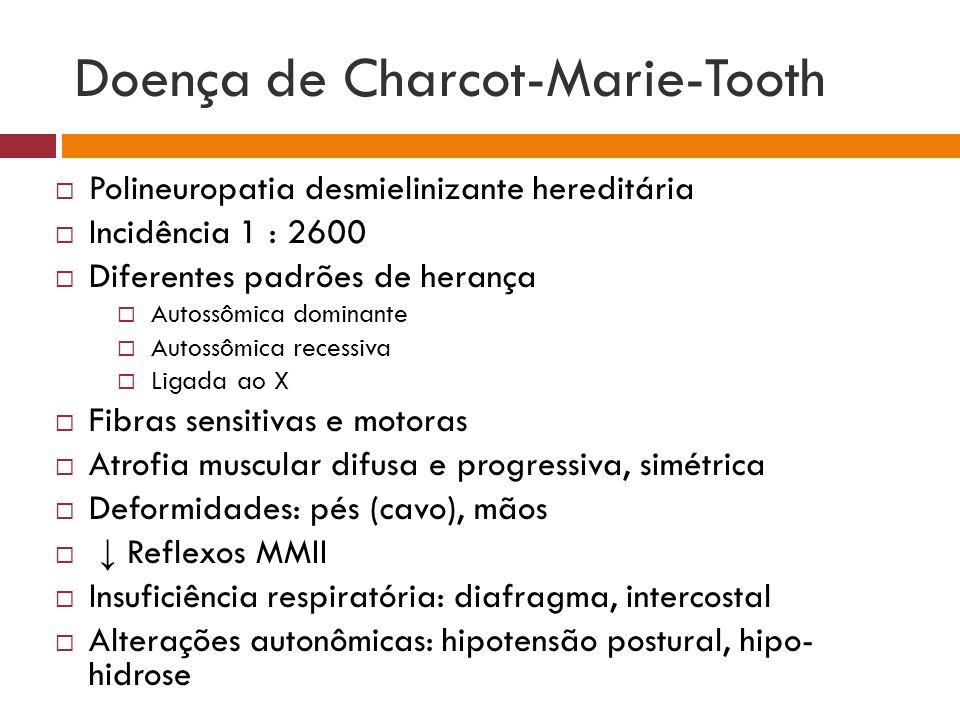 Doença de Charcot-Marie-Tooth
