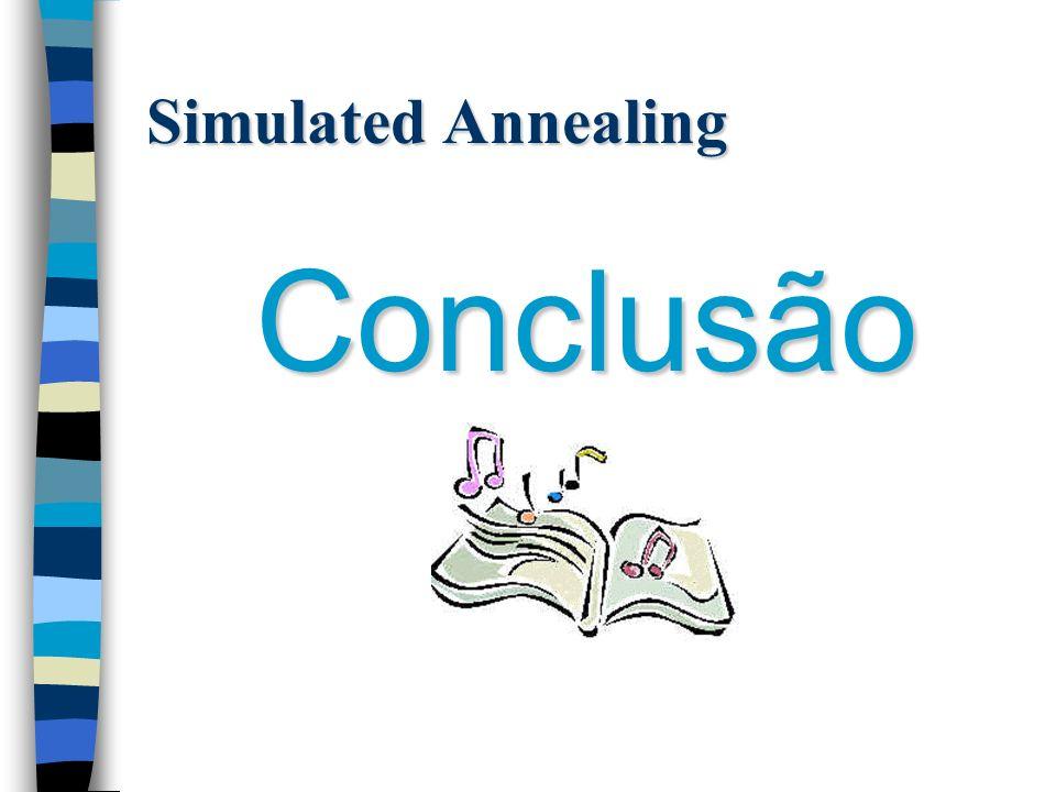Simulated Annealing Conclusão