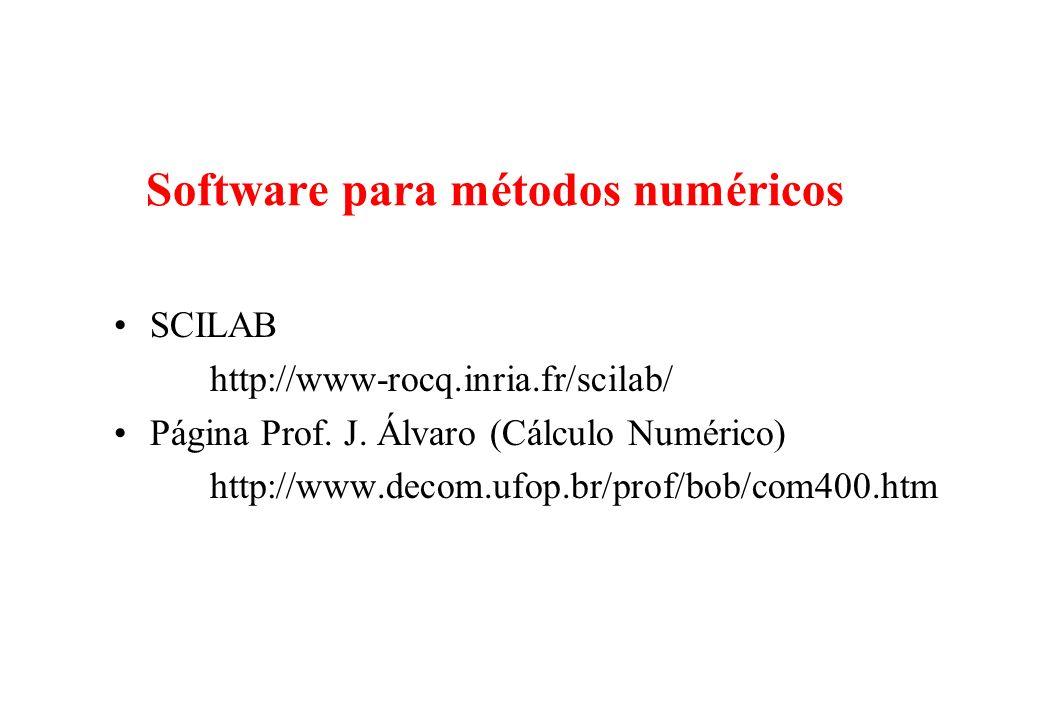 Software para métodos numéricos