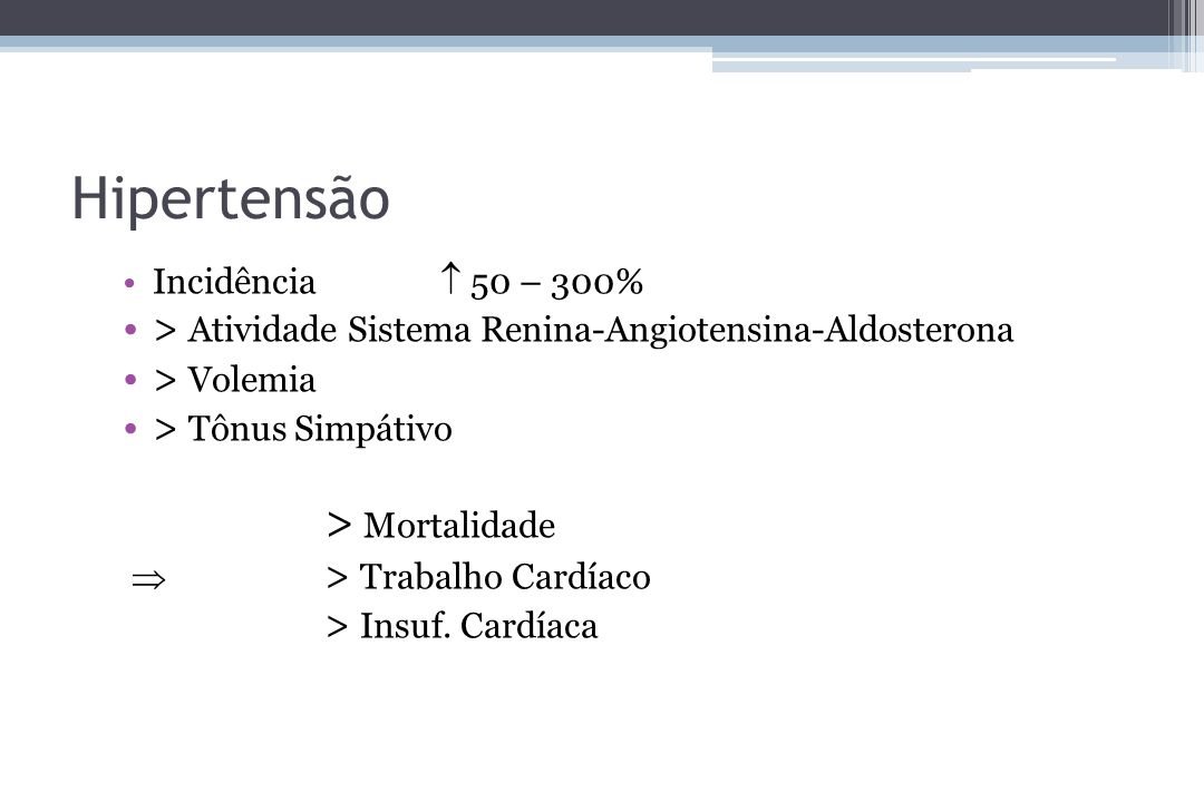 Hipertensão > Mortalidade
