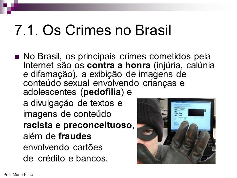 7.1. Os Crimes no Brasil
