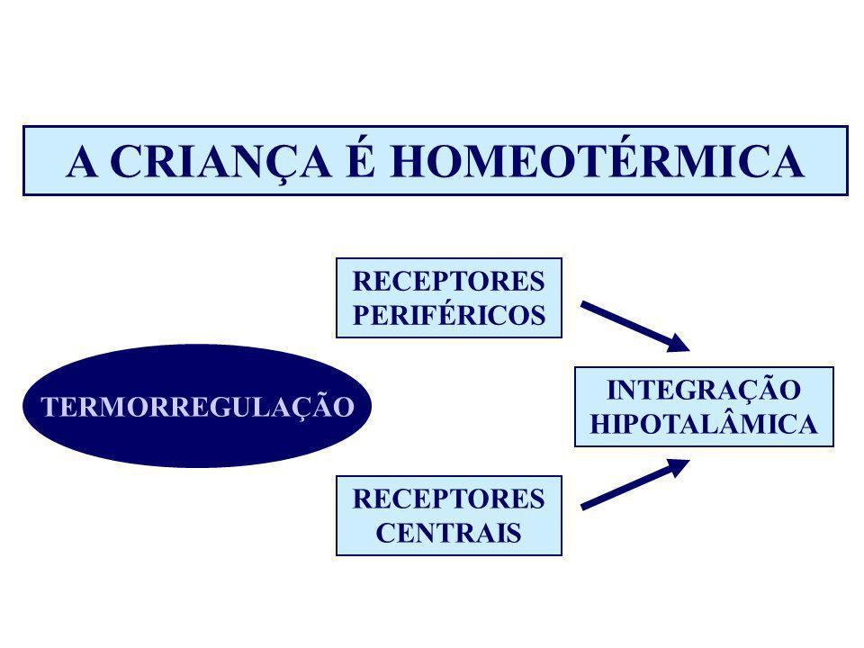 A CRIANÇA É HOMEOTÉRMICA