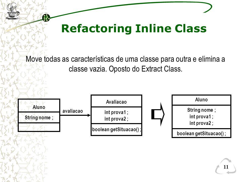 Refactoring Inline Class