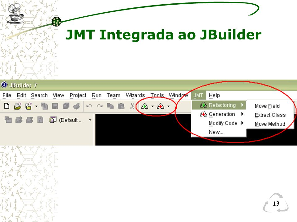 JMT Integrada ao JBuilder