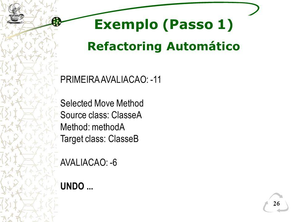 Refactoring Automático