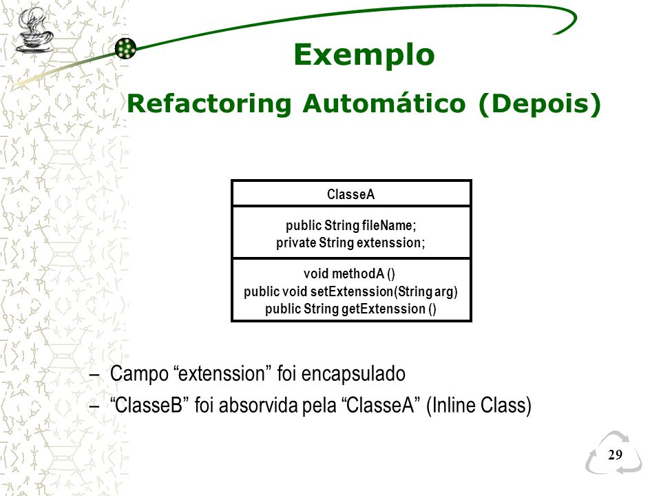 Refactoring Automático (Depois)