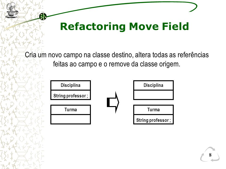 Refactoring Move Field