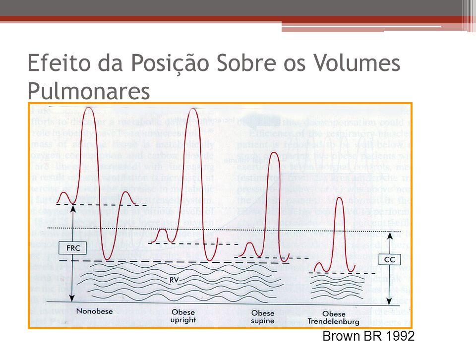 Efeito da Posição Sobre os Volumes Pulmonares