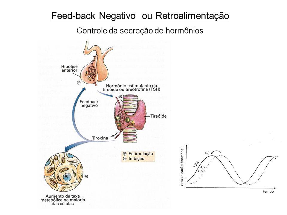 Feed-back Negativo ou Retroalimentação