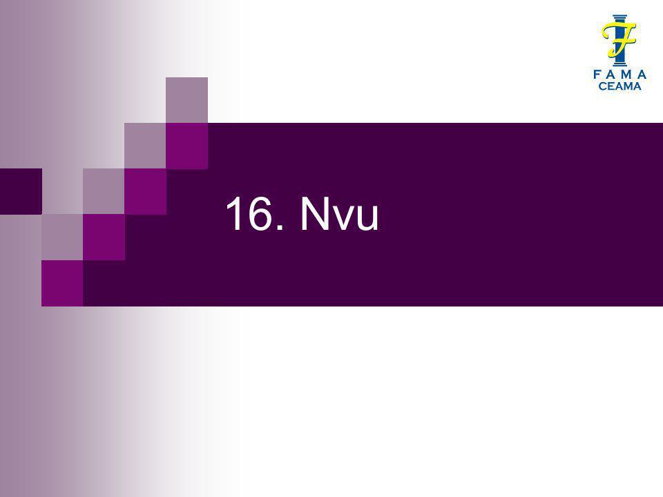 16. Nvu