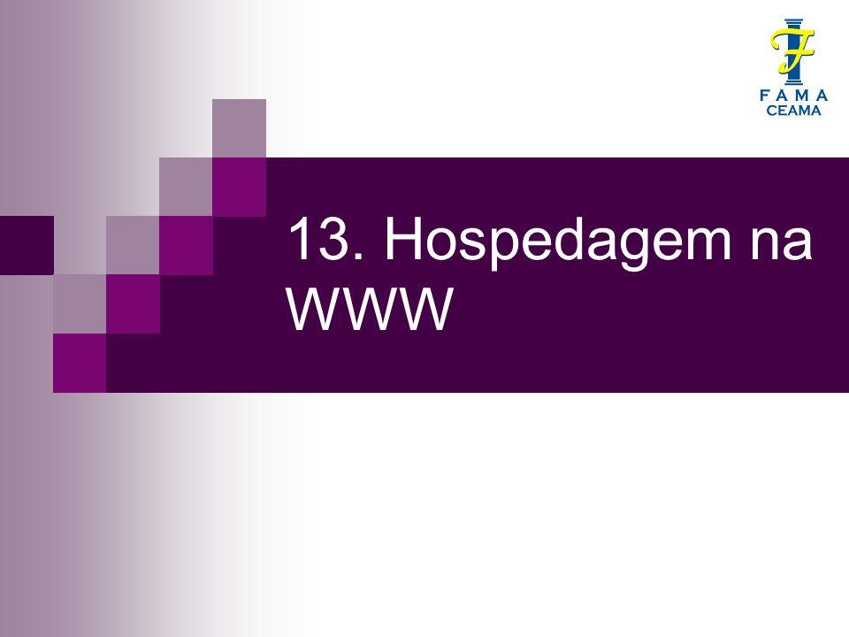 13. Hospedagem na WWW