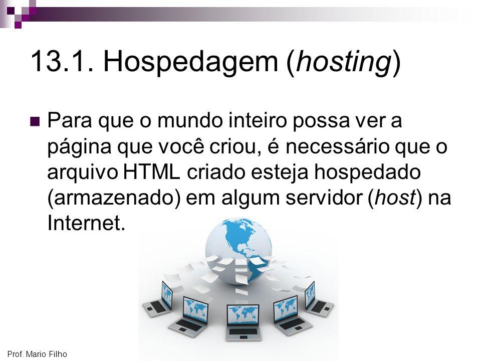 13.1. Hospedagem (hosting)