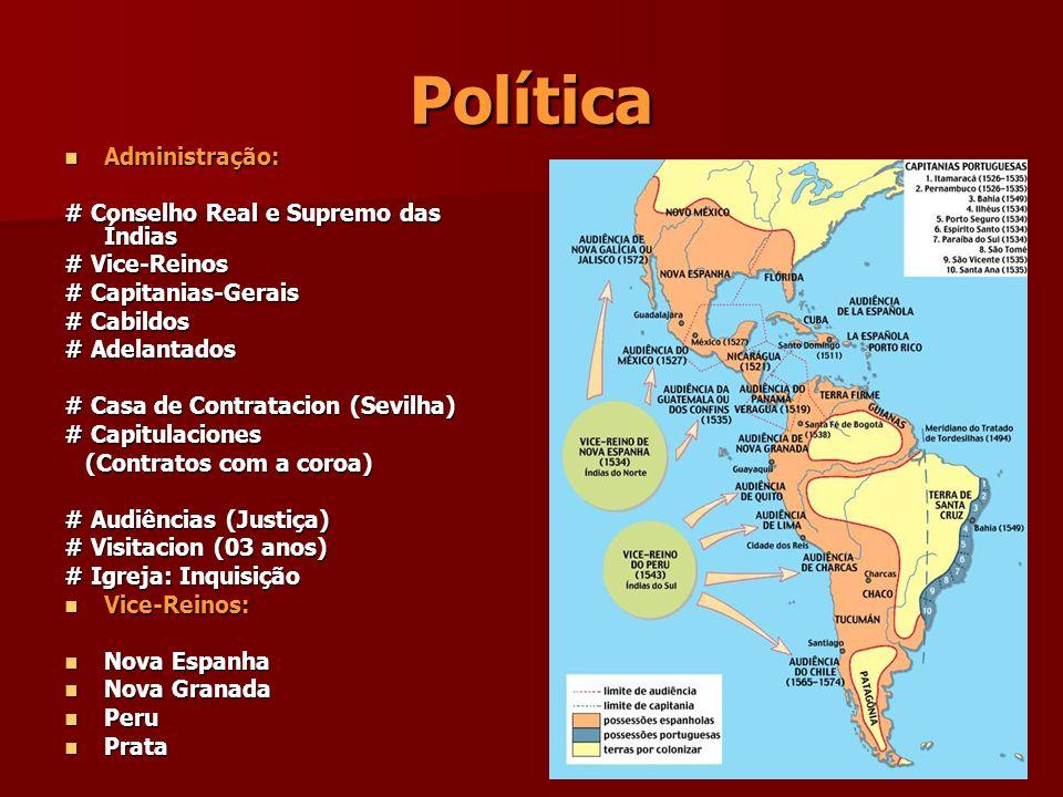 Política Administração: # Conselho Real e Supremo das Índias