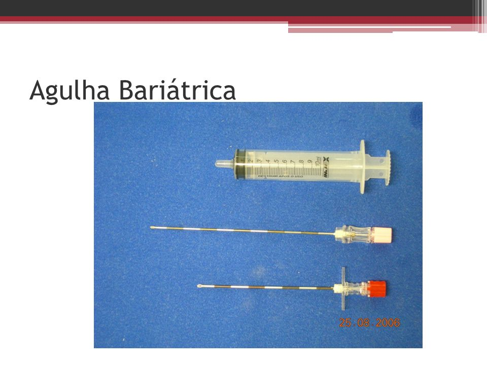 Agulha Bariátrica