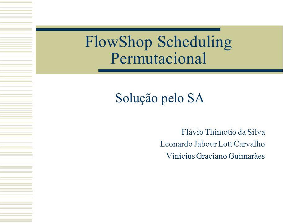 FlowShop Scheduling Permutacional
