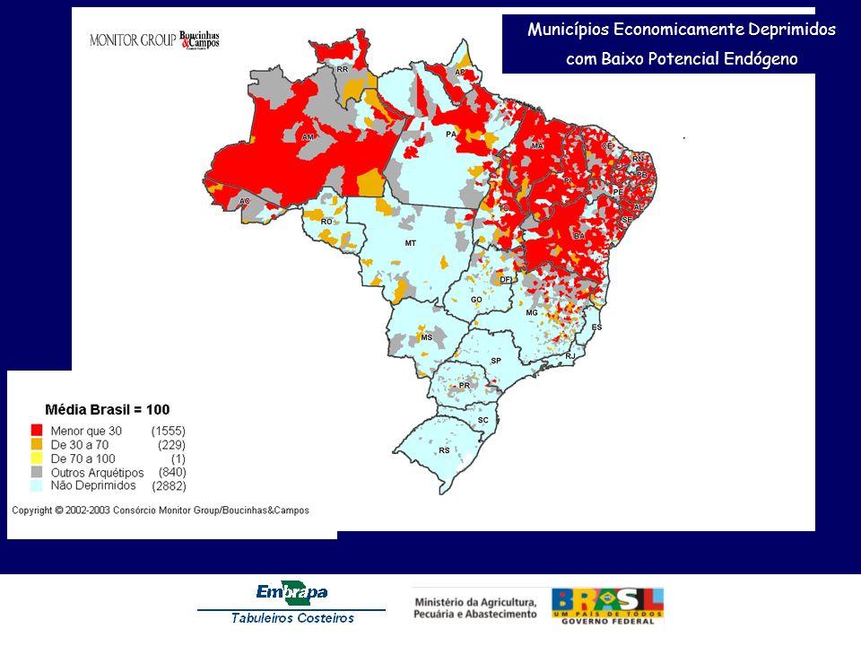 Municípios Economicamente Deprimidos com Baixo Potencial Endógeno