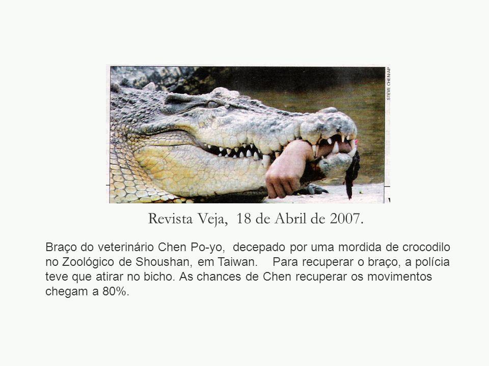 Revista Veja, 18 de Abril de 2007.