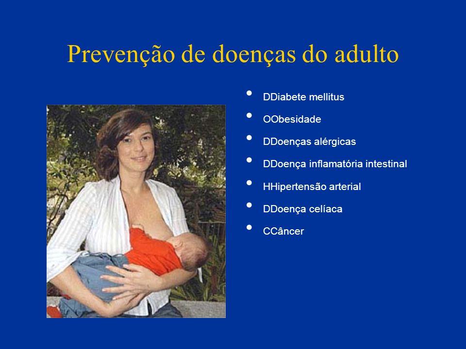 Prevenção de doenças do adulto