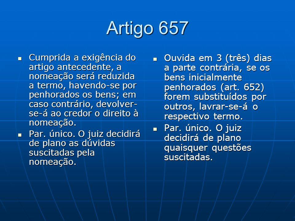 Artigo 657