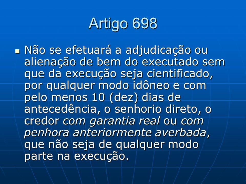 Artigo 698