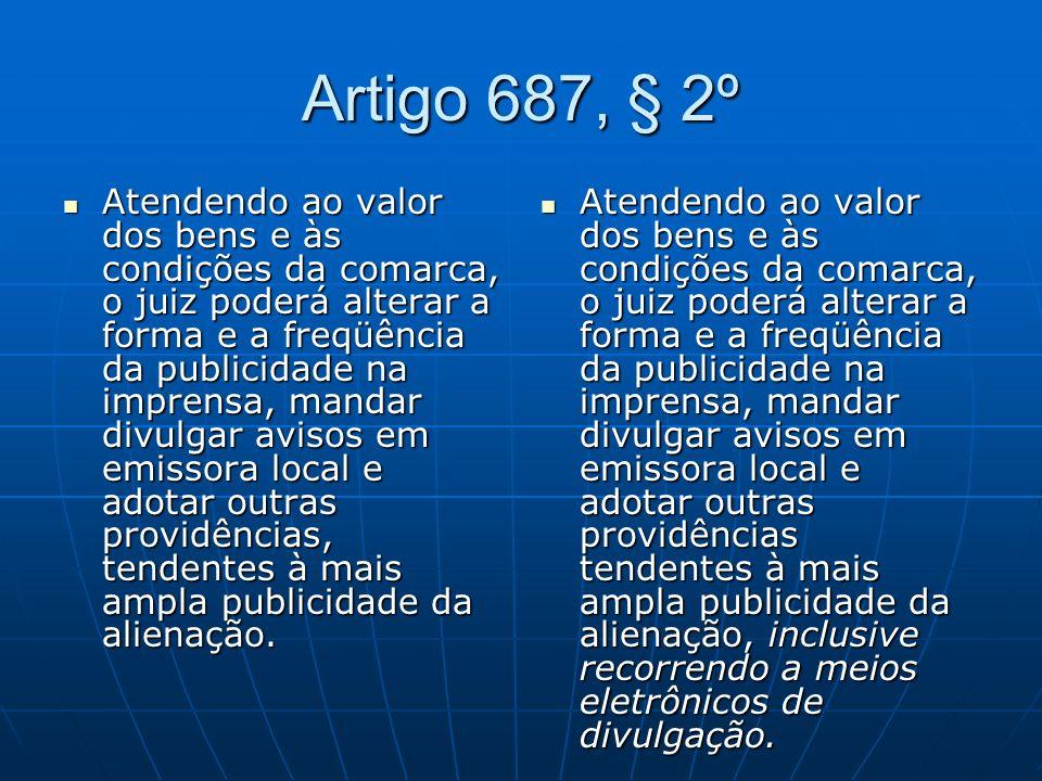Artigo 687, § 2º