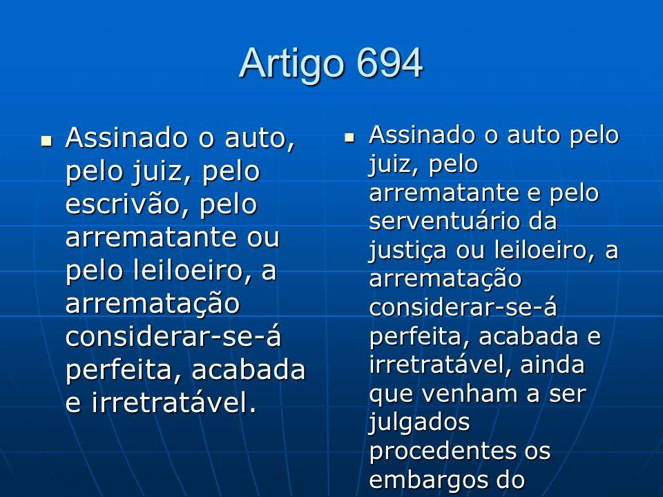 Artigo 694
