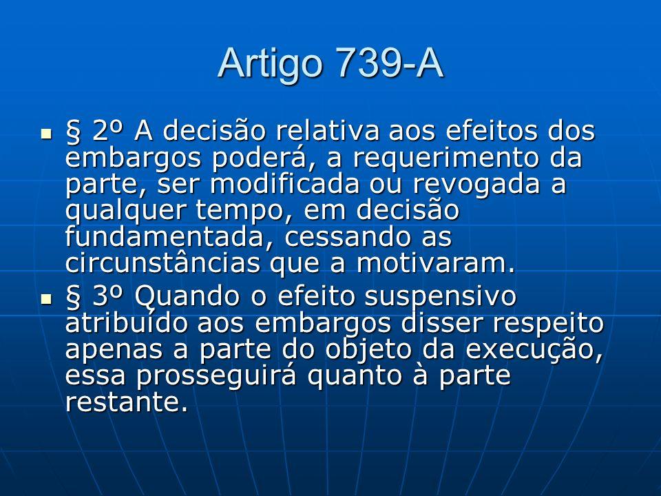 Artigo 739-A