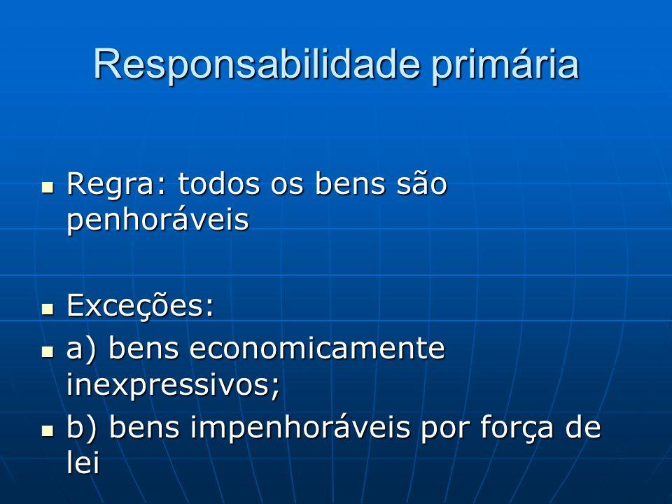 Responsabilidade primária