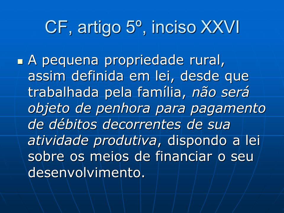 CF, artigo 5º, inciso XXVI