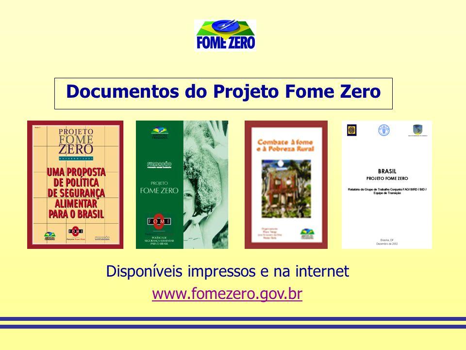 Documentos do Projeto Fome Zero
