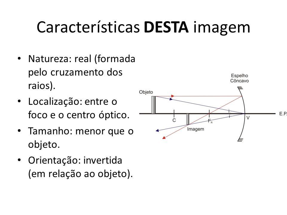 Características DESTA imagem