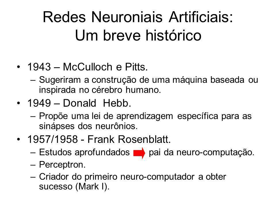 Redes Neuroniais Artificiais: Um breve histórico