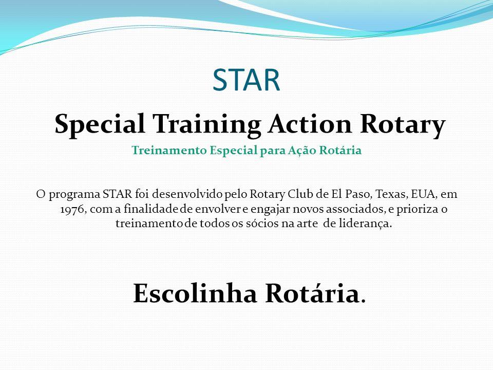 Special Training Action Rotary Treinamento Especial para Ação Rotária