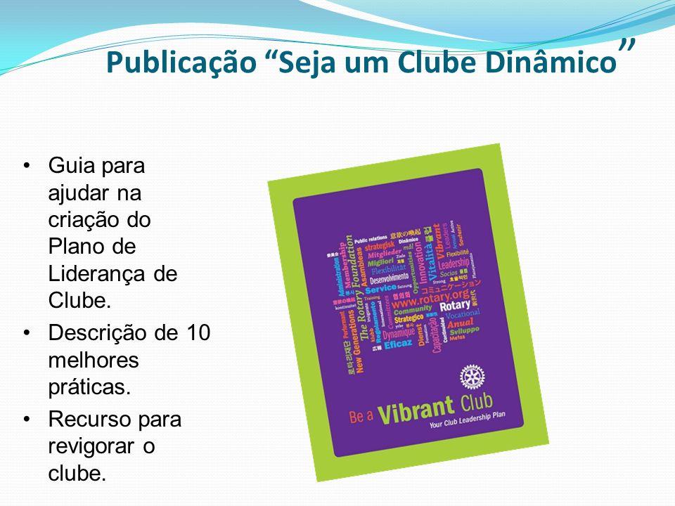 Publicação Seja um Clube Dinâmico