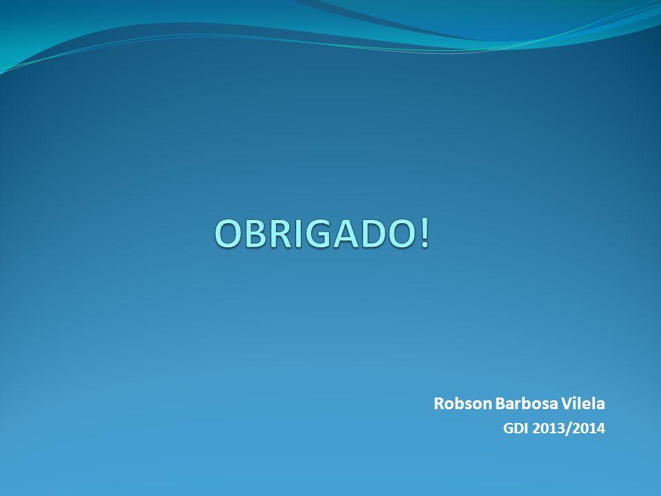 Robson Barbosa Vilela GDI 2013/2014