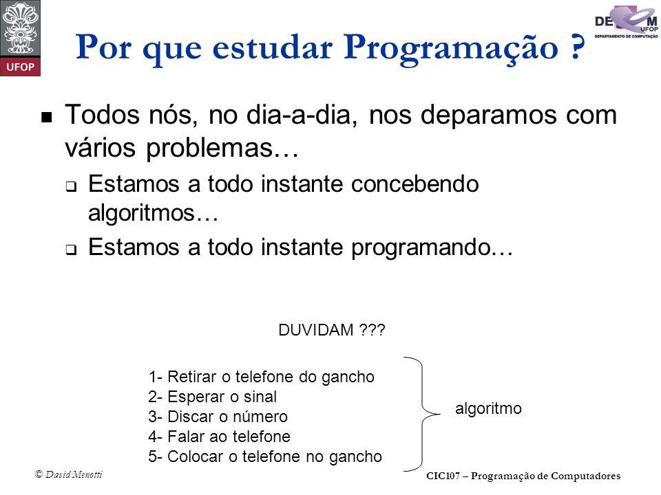 Por que estudar Programação