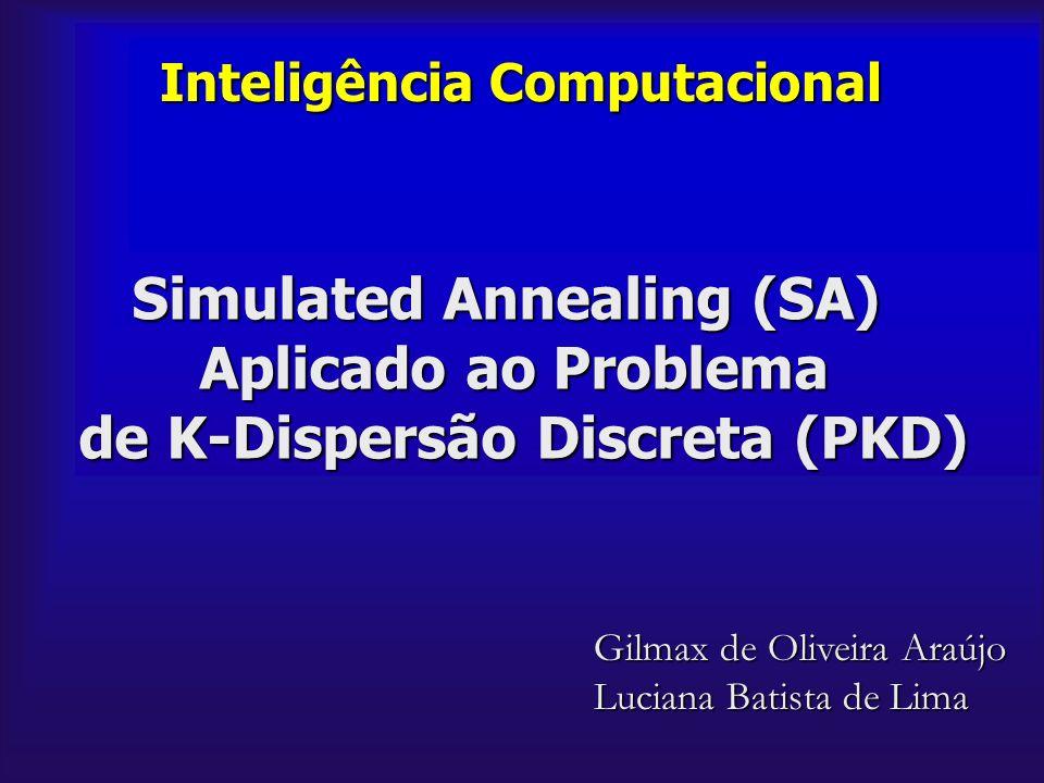 Simulated Annealing (SA) Aplicado ao Problema