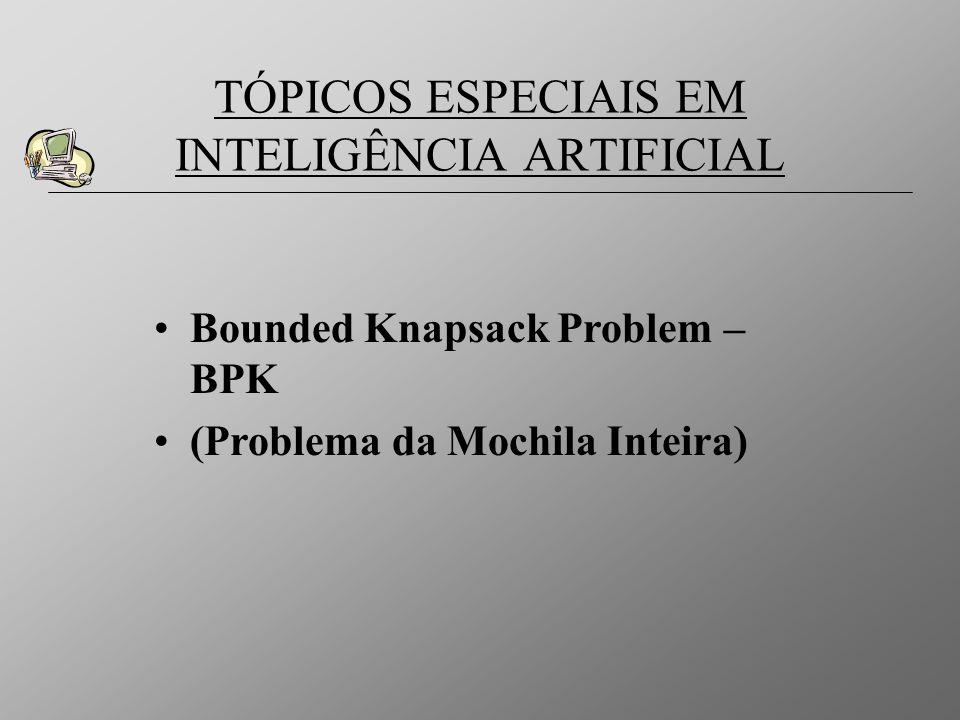 TÓPICOS ESPECIAIS EM INTELIGÊNCIA ARTIFICIAL