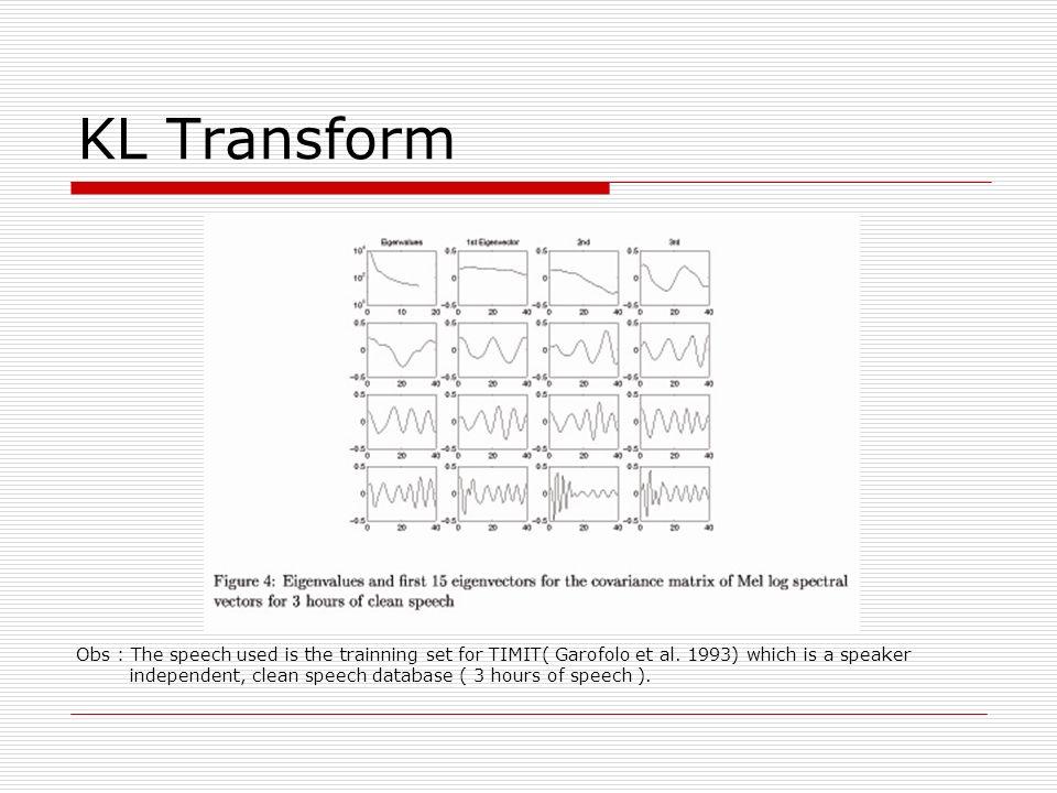 KL Transform