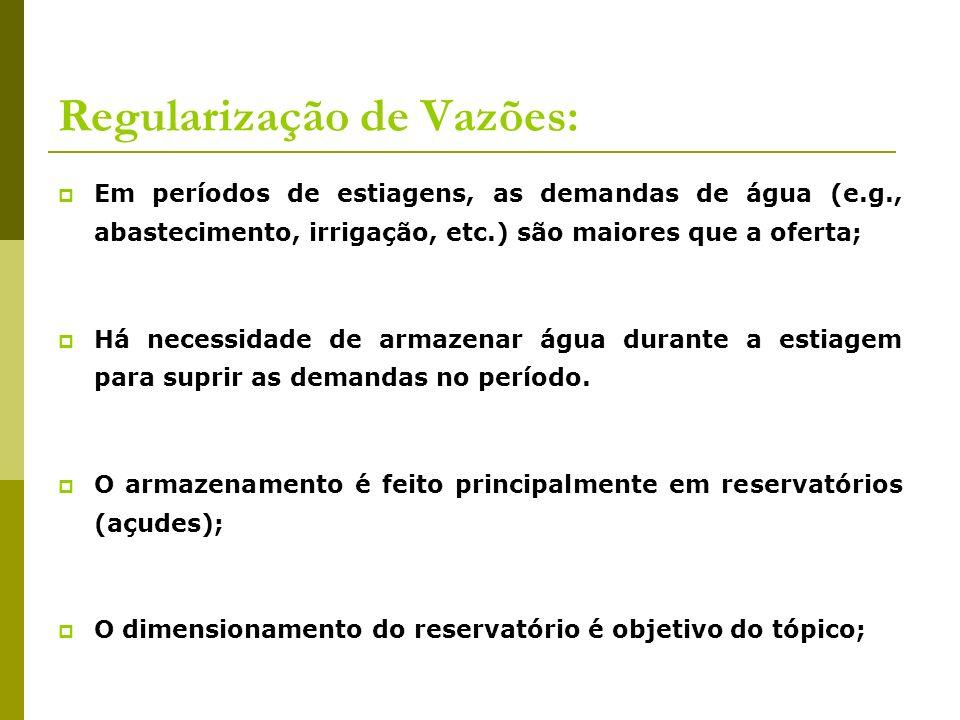 Regularização de Vazões: