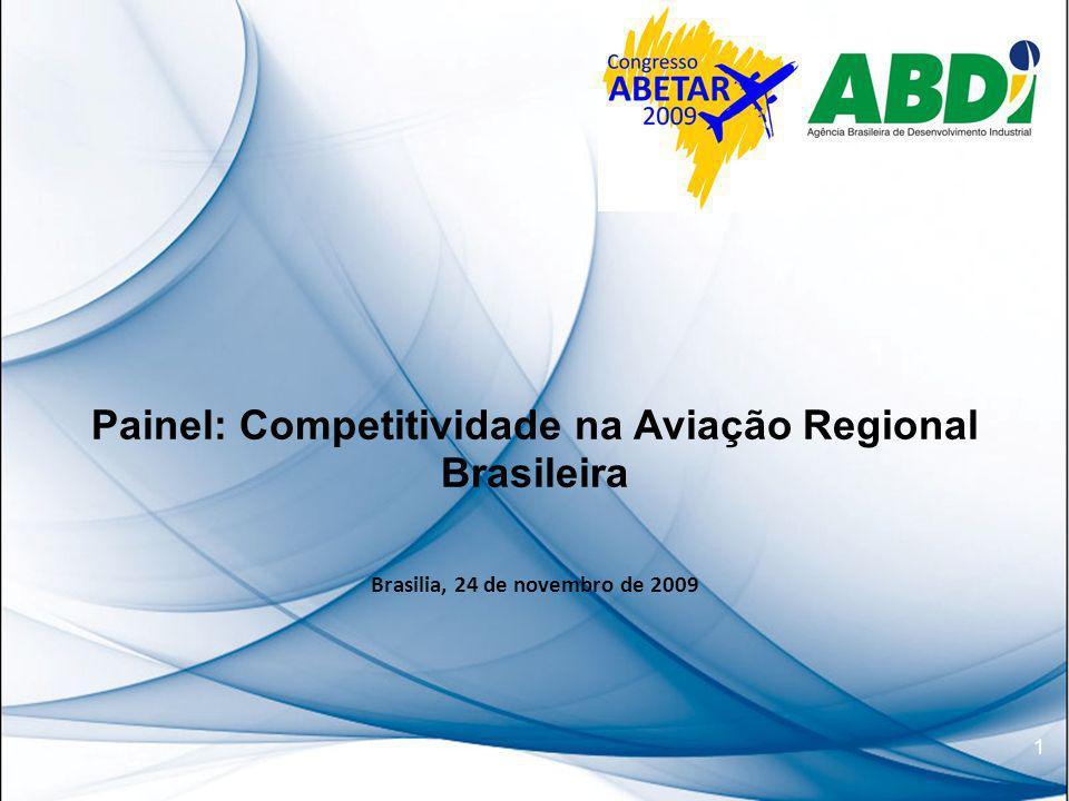 Painel: Competitividade na Aviação Regional Brasileira