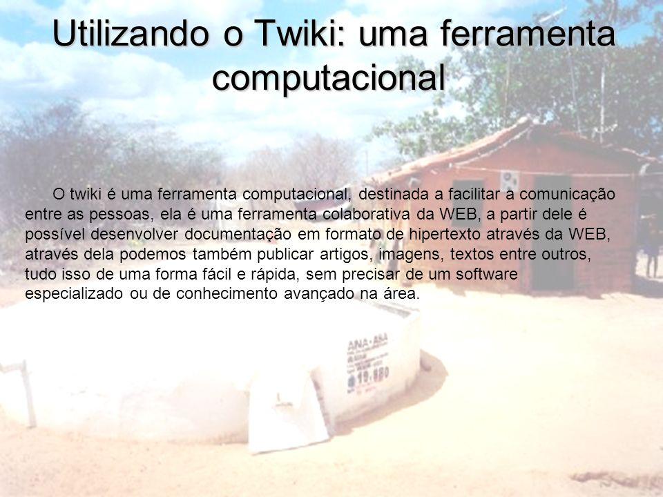 Utilizando o Twiki: uma ferramenta computacional