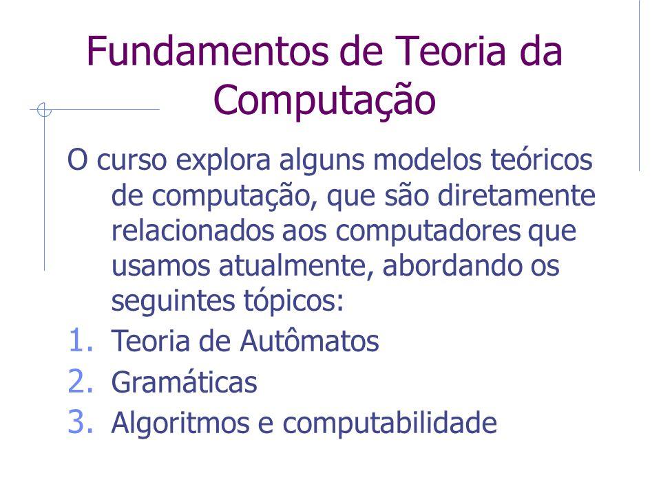 Fundamentos de Teoria da Computação