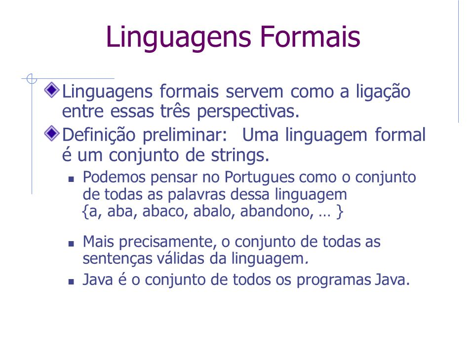 QUESTION TO ASK: How can it be that the set of Java programs is a language After all, a language is supposed to be composed of strings not programs